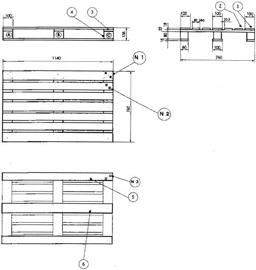 Cp pallets cp5 pallet - Plan de chaise longue en bois ...